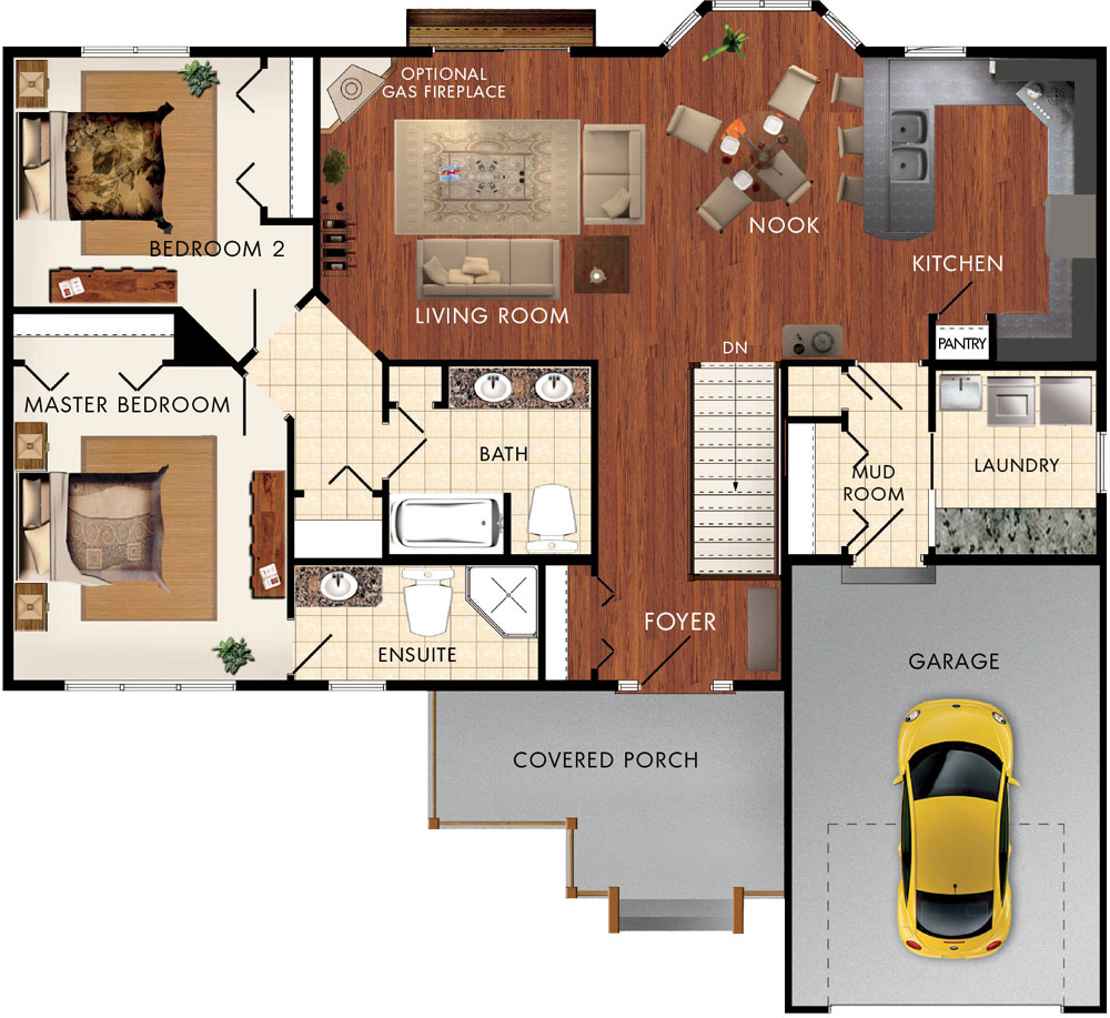 Braemore Floor Plan