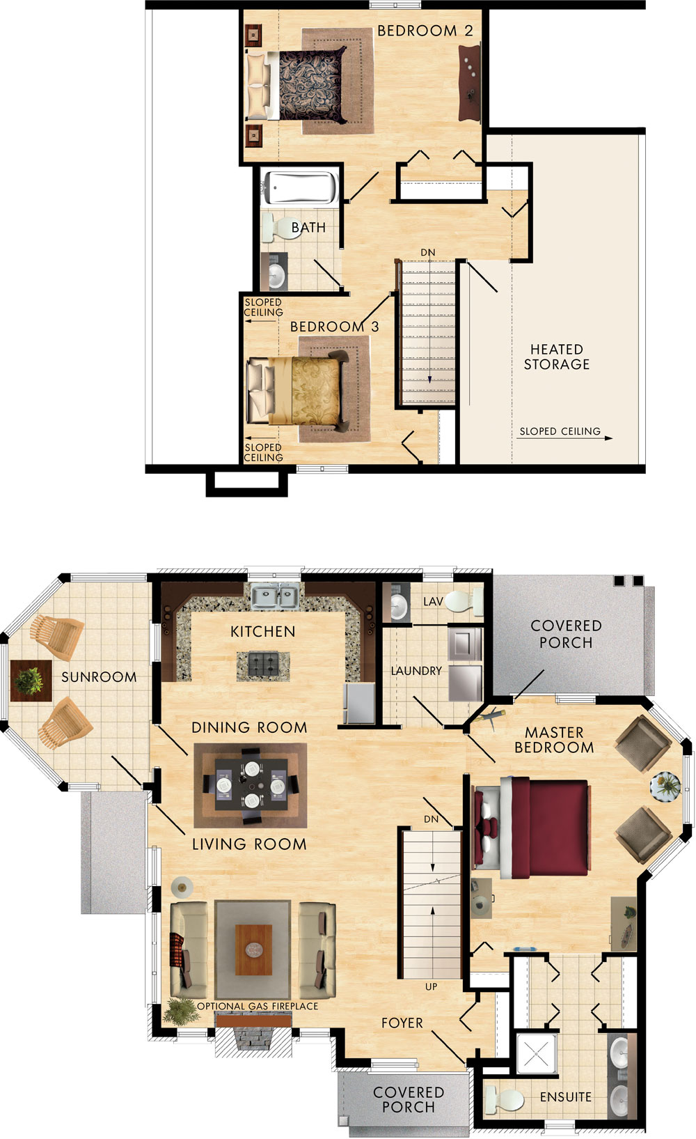 Caldwell Cove Floor Plan