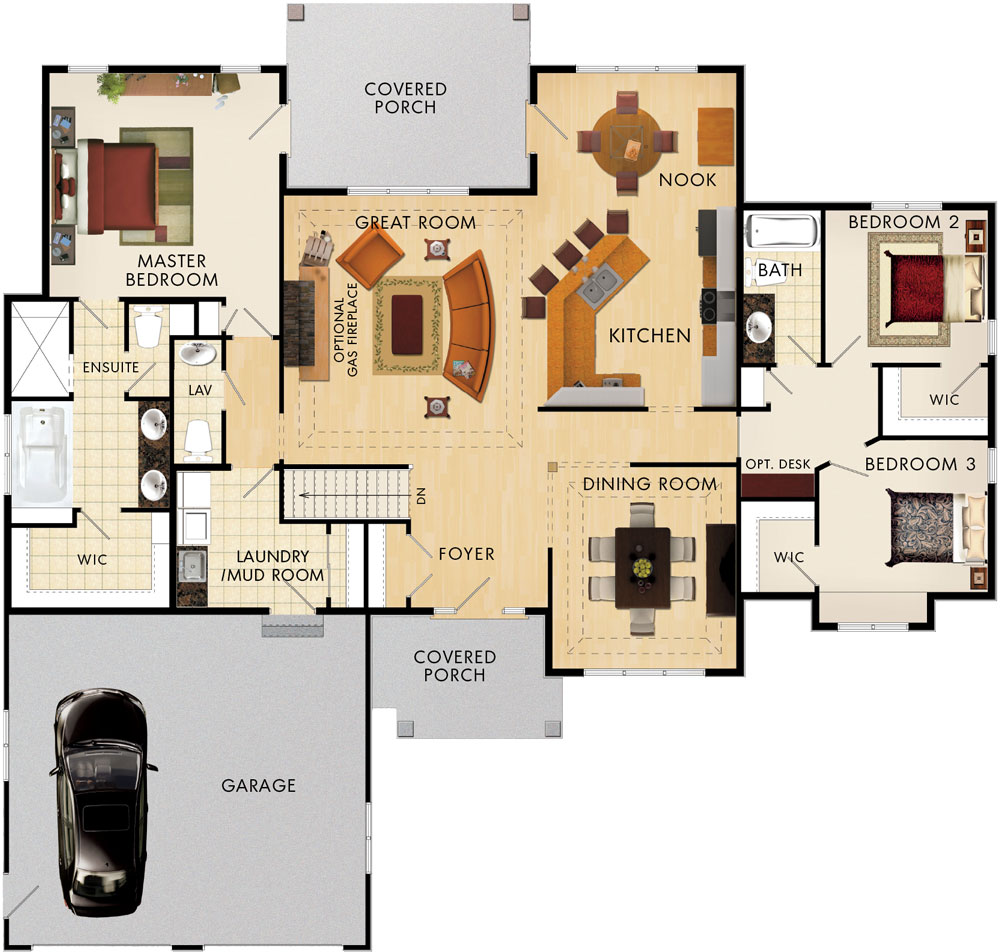 Cobble Hill Floor Plan
