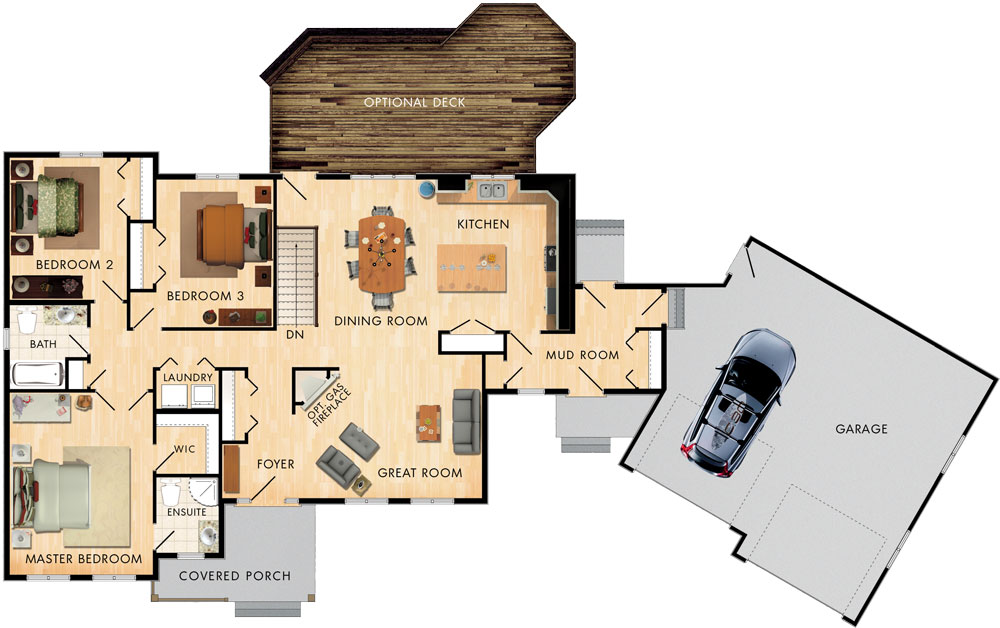 Corner Brook Floor Plan
