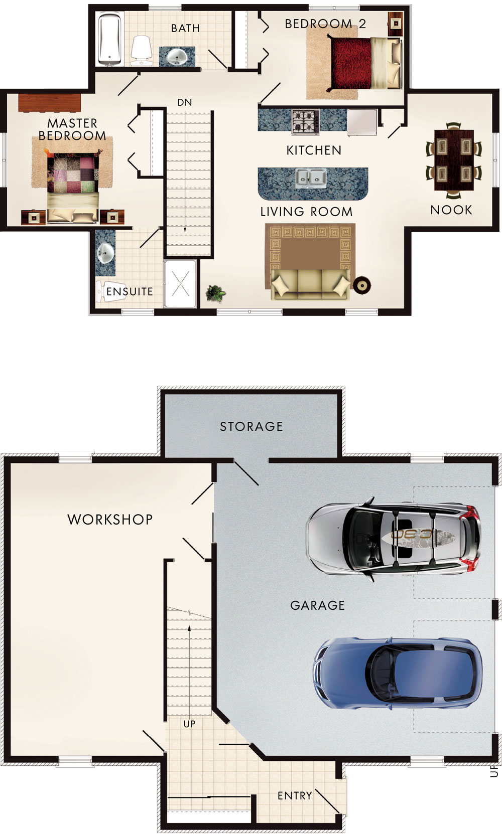 Beaver homes and cottages cotswold i for Home hardware floor plans