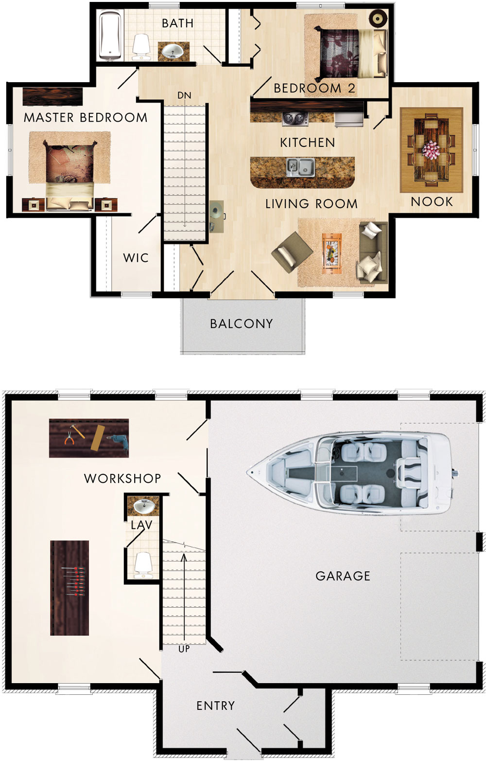 Cotswold II Floor Plan
