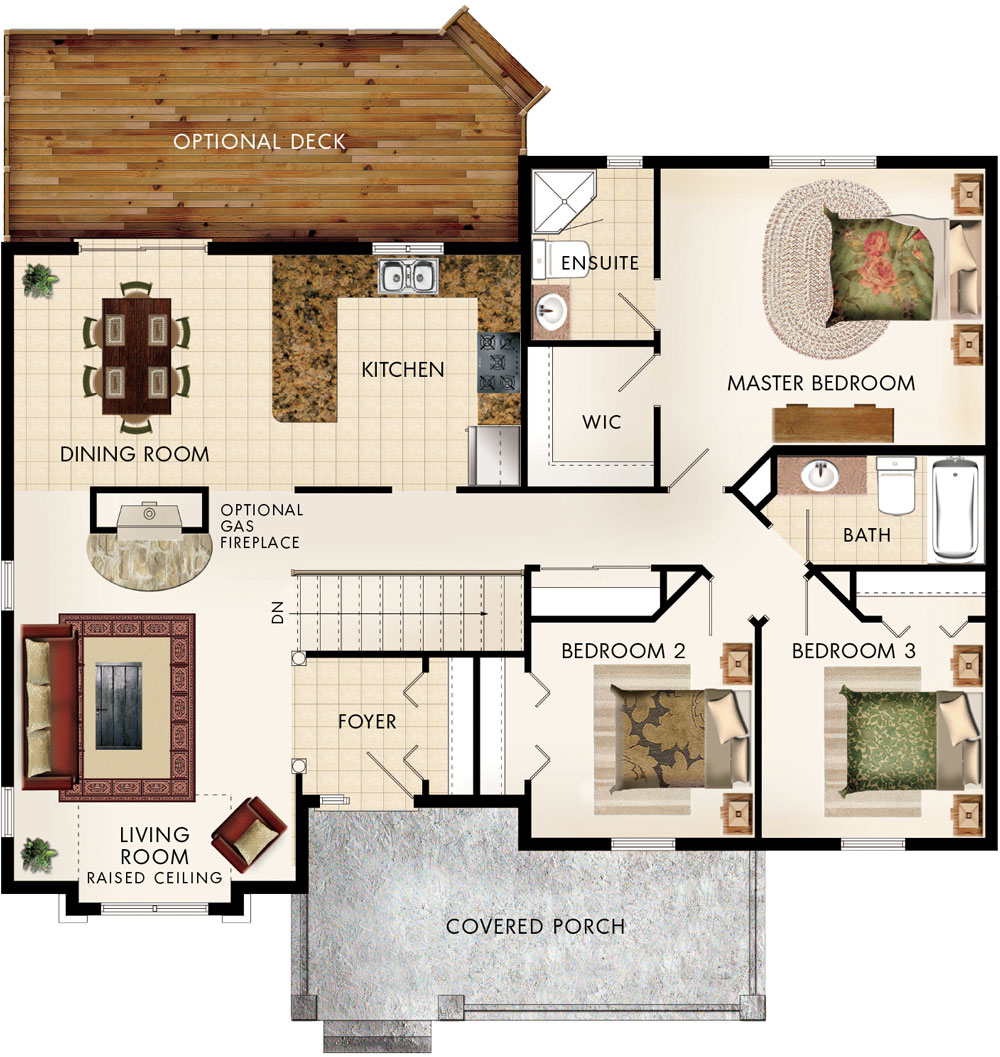 Cottonwood Floor Plan