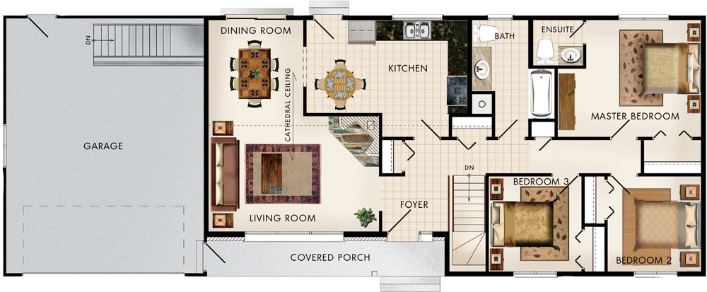 Cypress Hill II Floor Plan