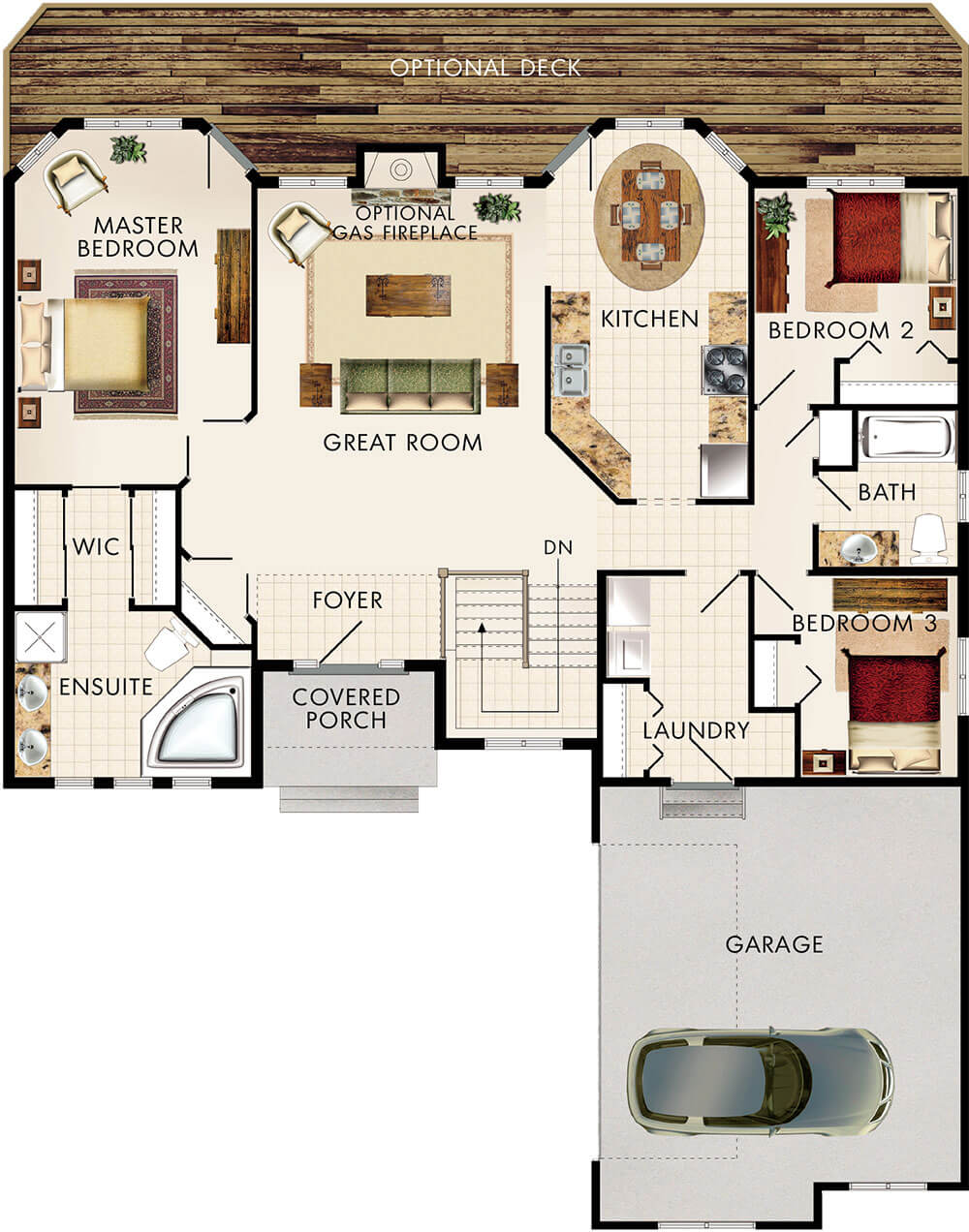 Amberwood Floor Plan