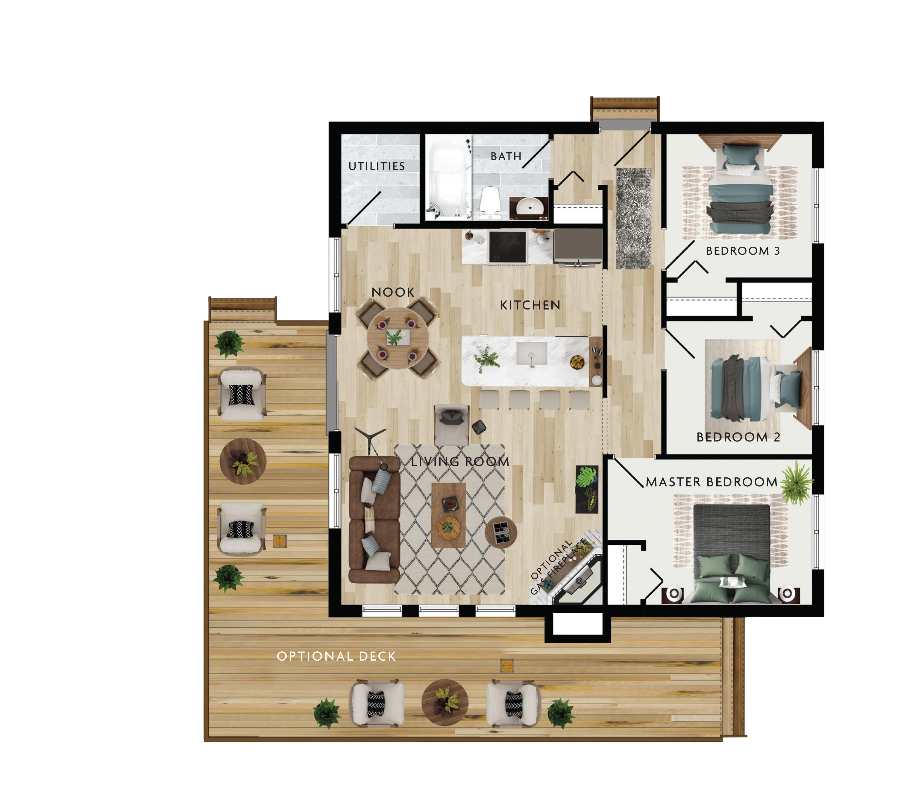 Fairmont Floor Plan