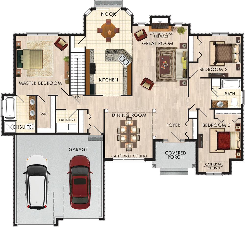 Foxstone Floor Plan