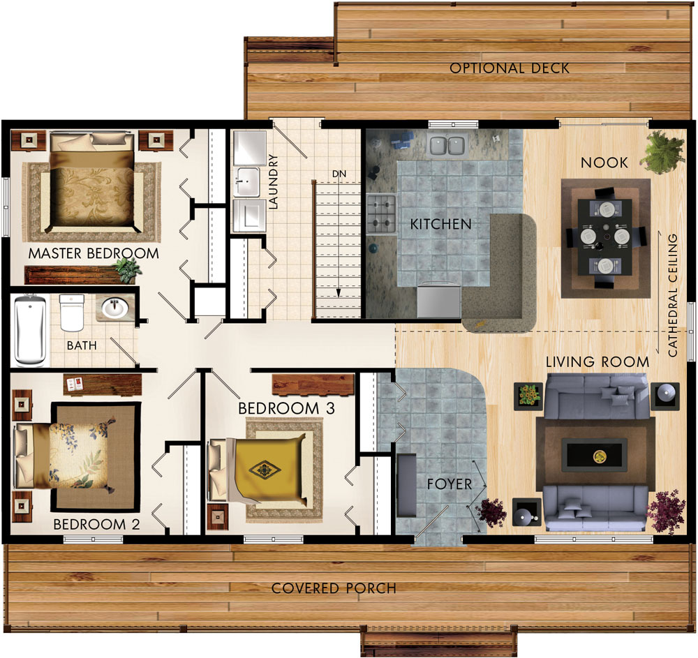 Fulmore Floor Plan