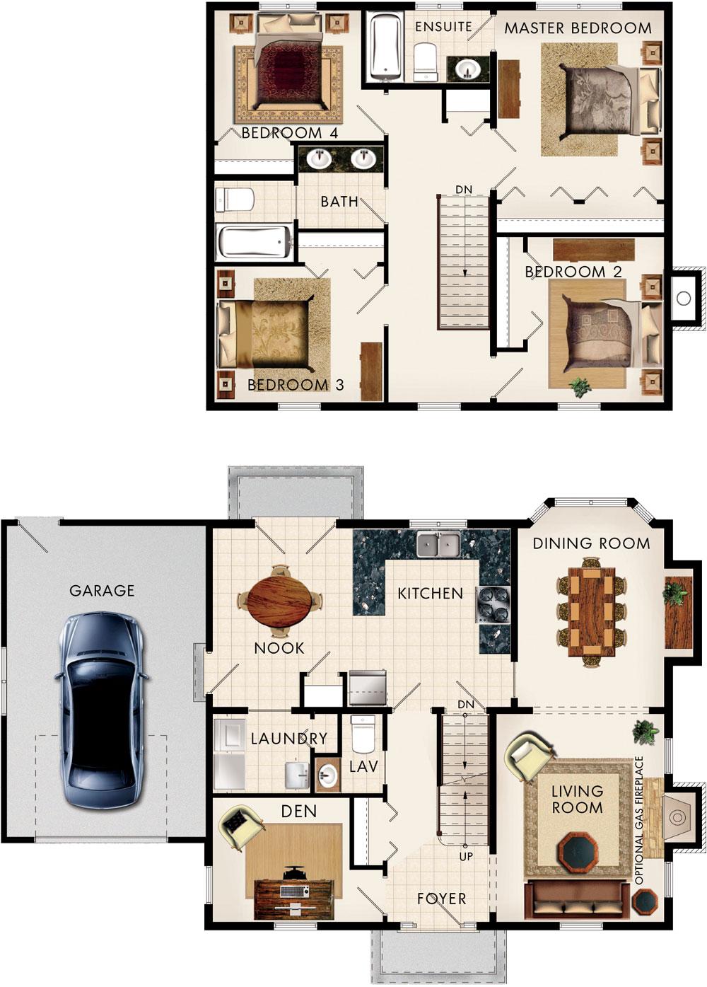 Georgian Floor Plan