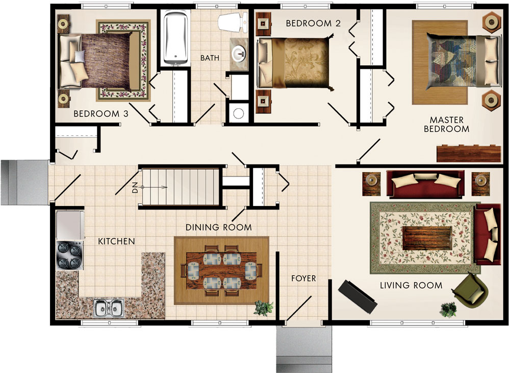 Lakewood II Floor Plan