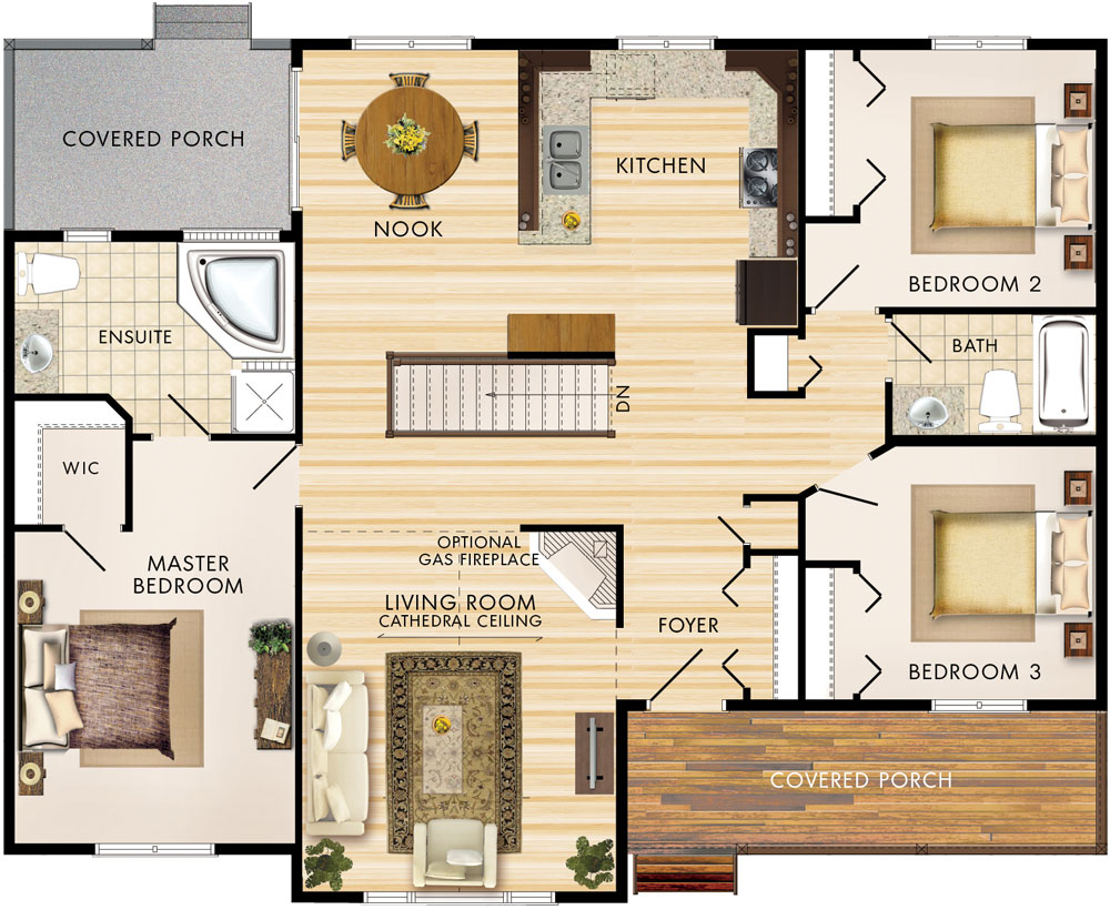 Linwood Floor Plan
