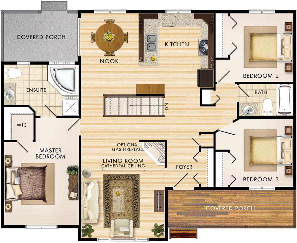 Linwood Floor Plan