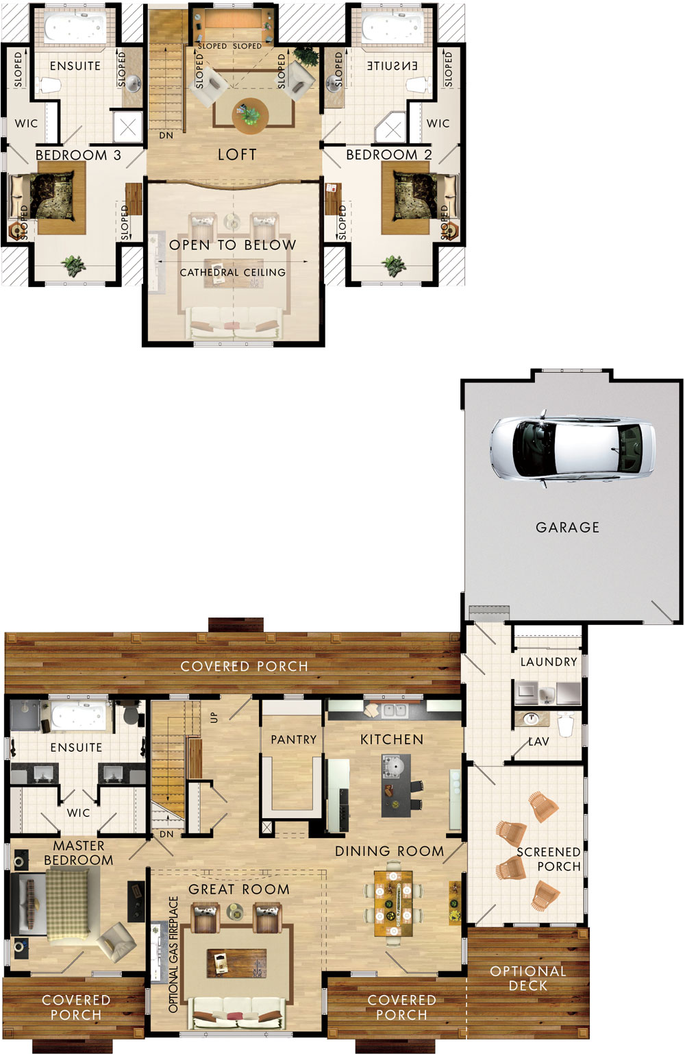 Beaver homes and cottages otter lake for Home hardware floor plans