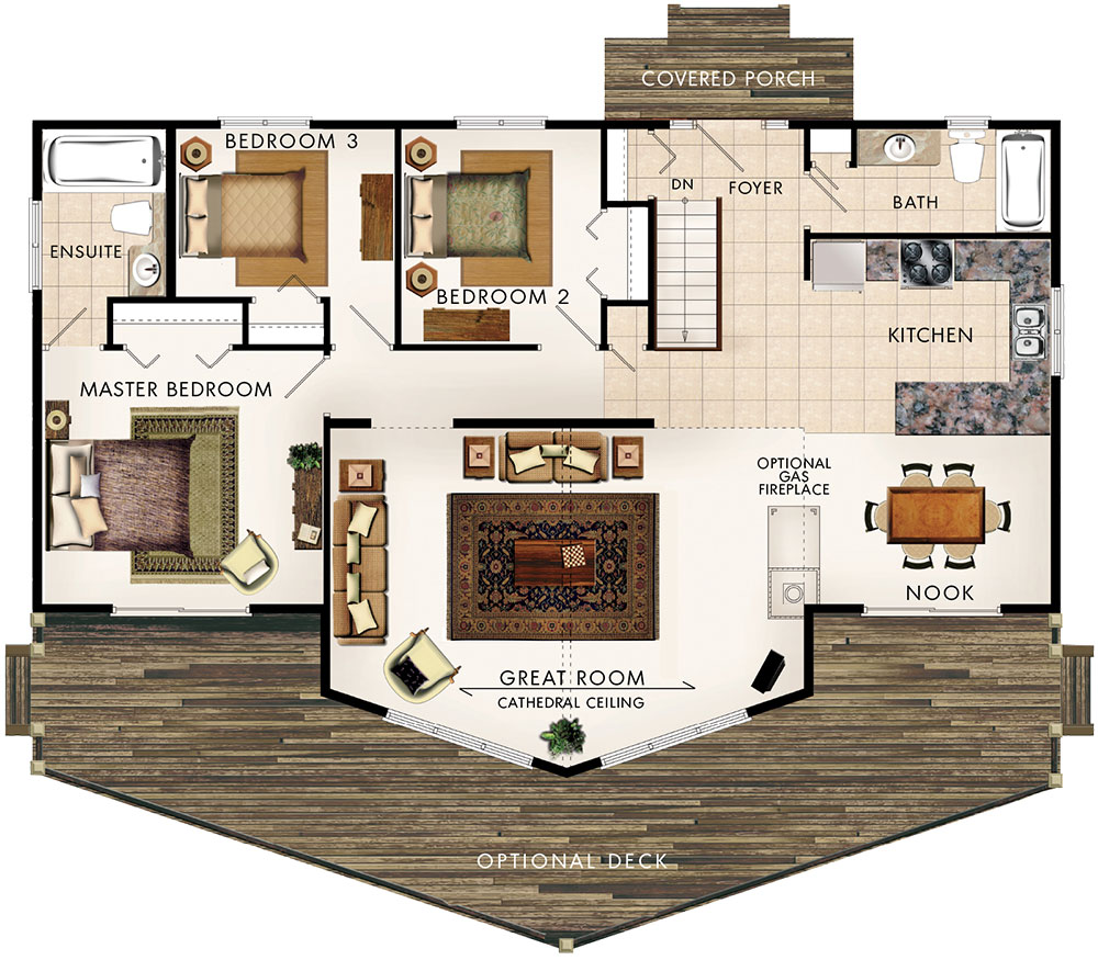 Peppermill house plan home hardware for Home hardware plans