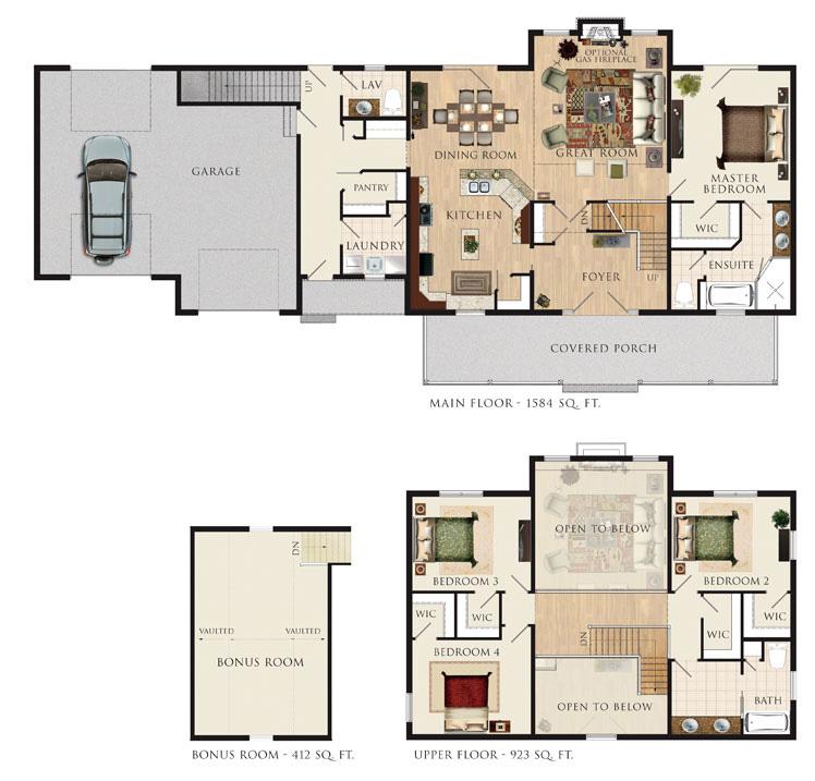 Home hardware house plans 2010 for Home hardware floor plans