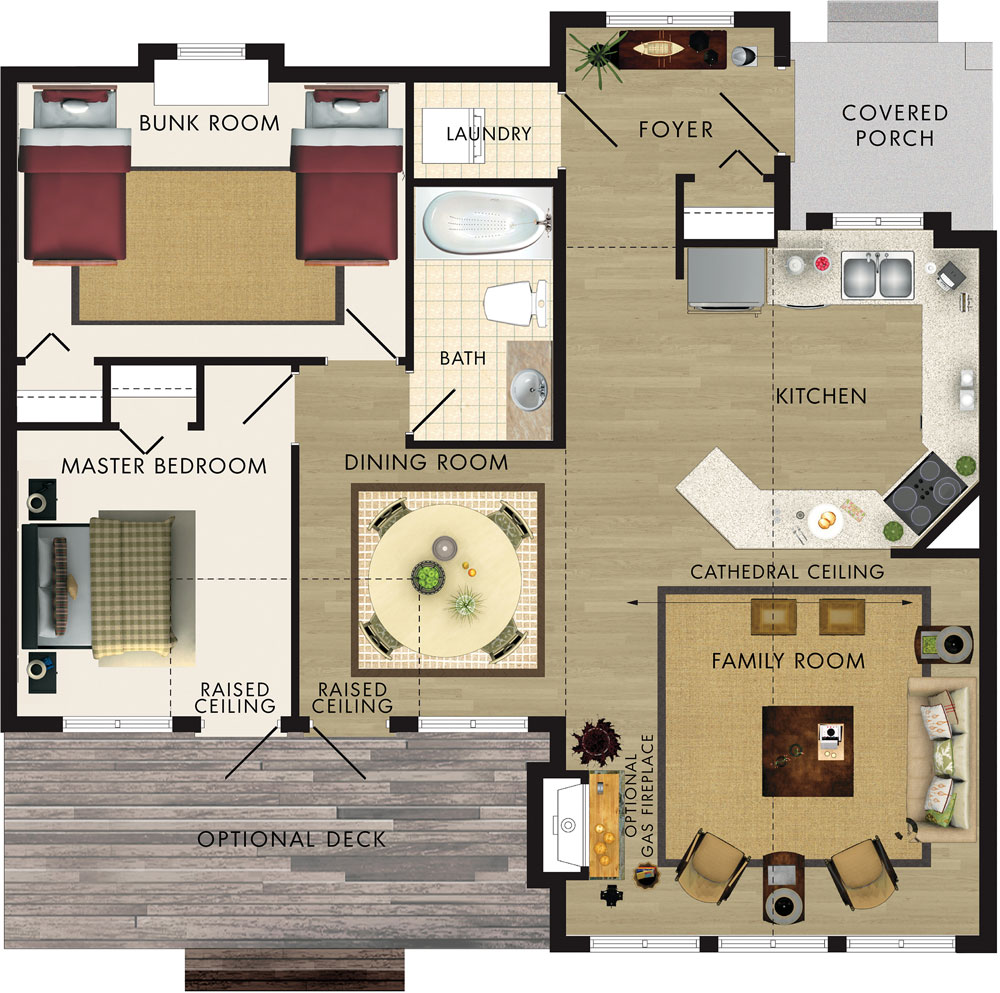 Beaver Homes and Cottages Aspen I – Beaver Homes Floor Plans