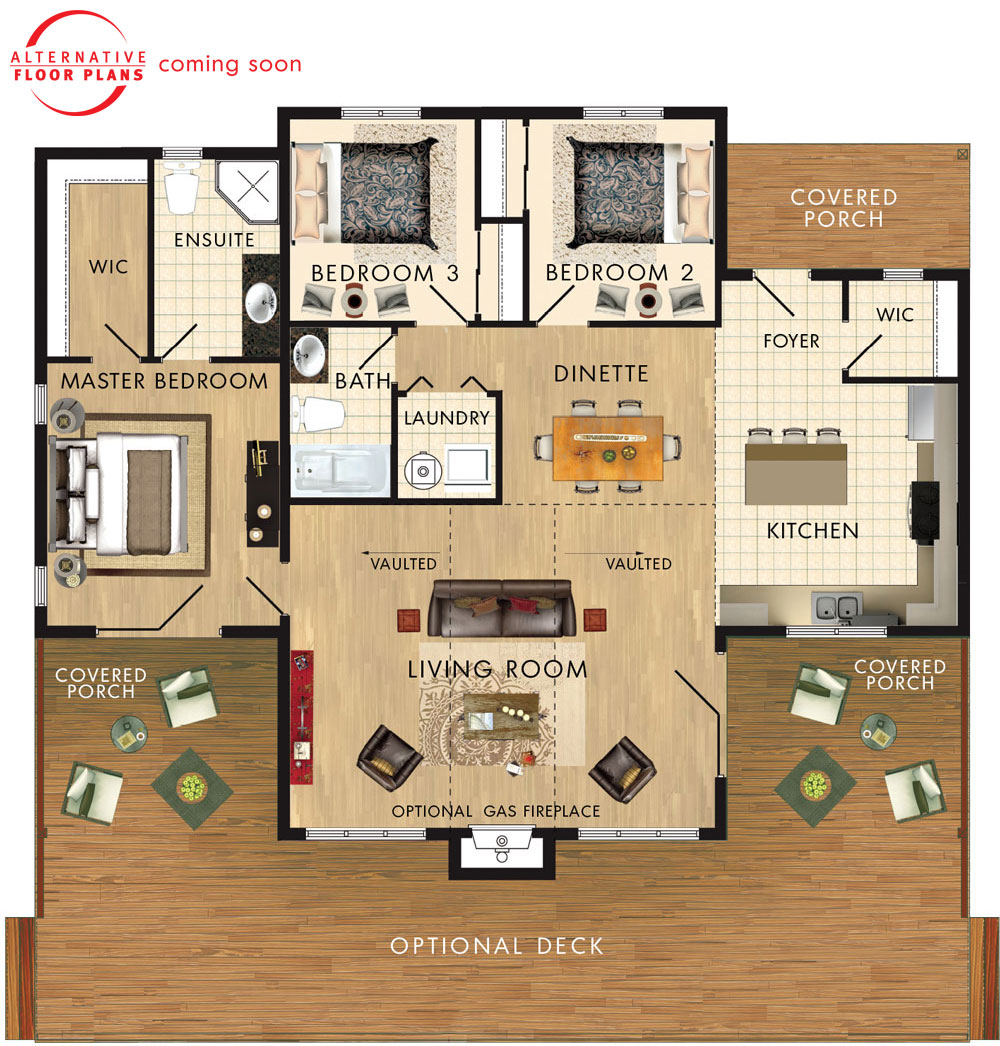 Beaver homes and cottages dorset ii for Home hardware floor plans