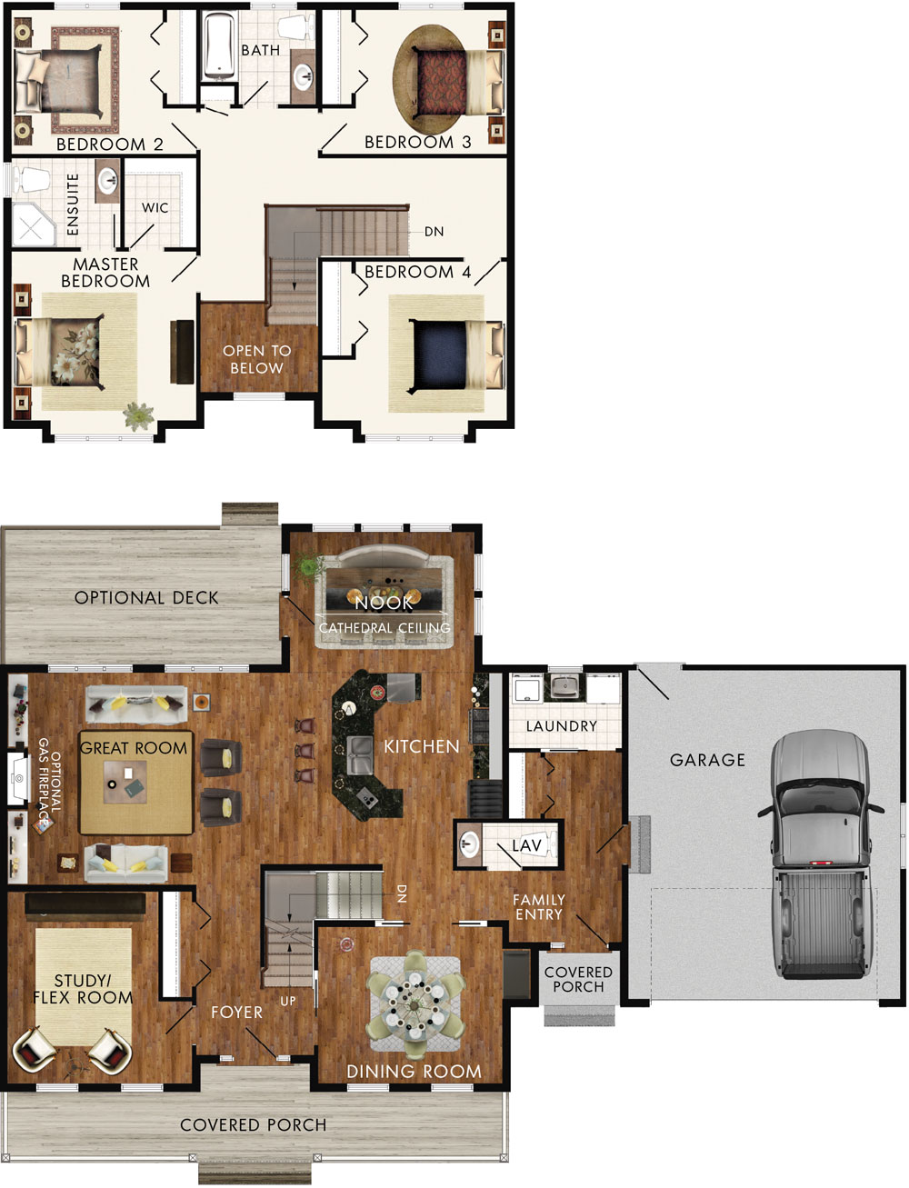 Beaver homes and cottages delacombe for Home hardware floor plans