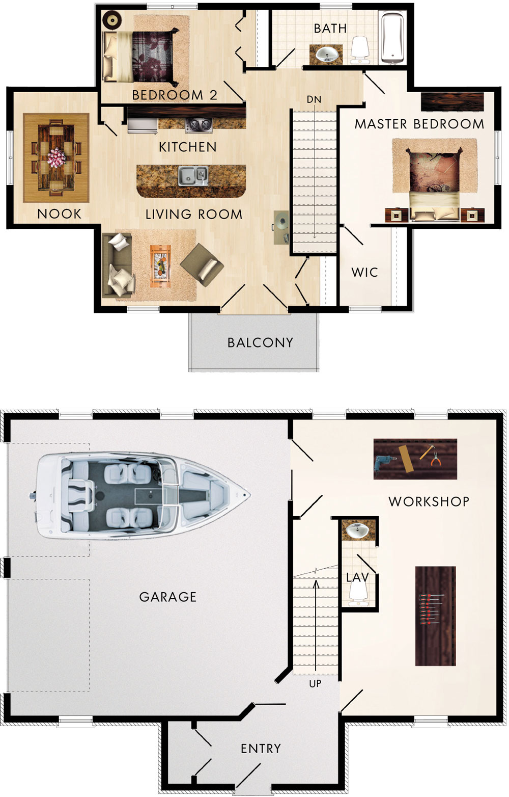 Beaver homes and cottages cotswold ii for Home hardware floor plans