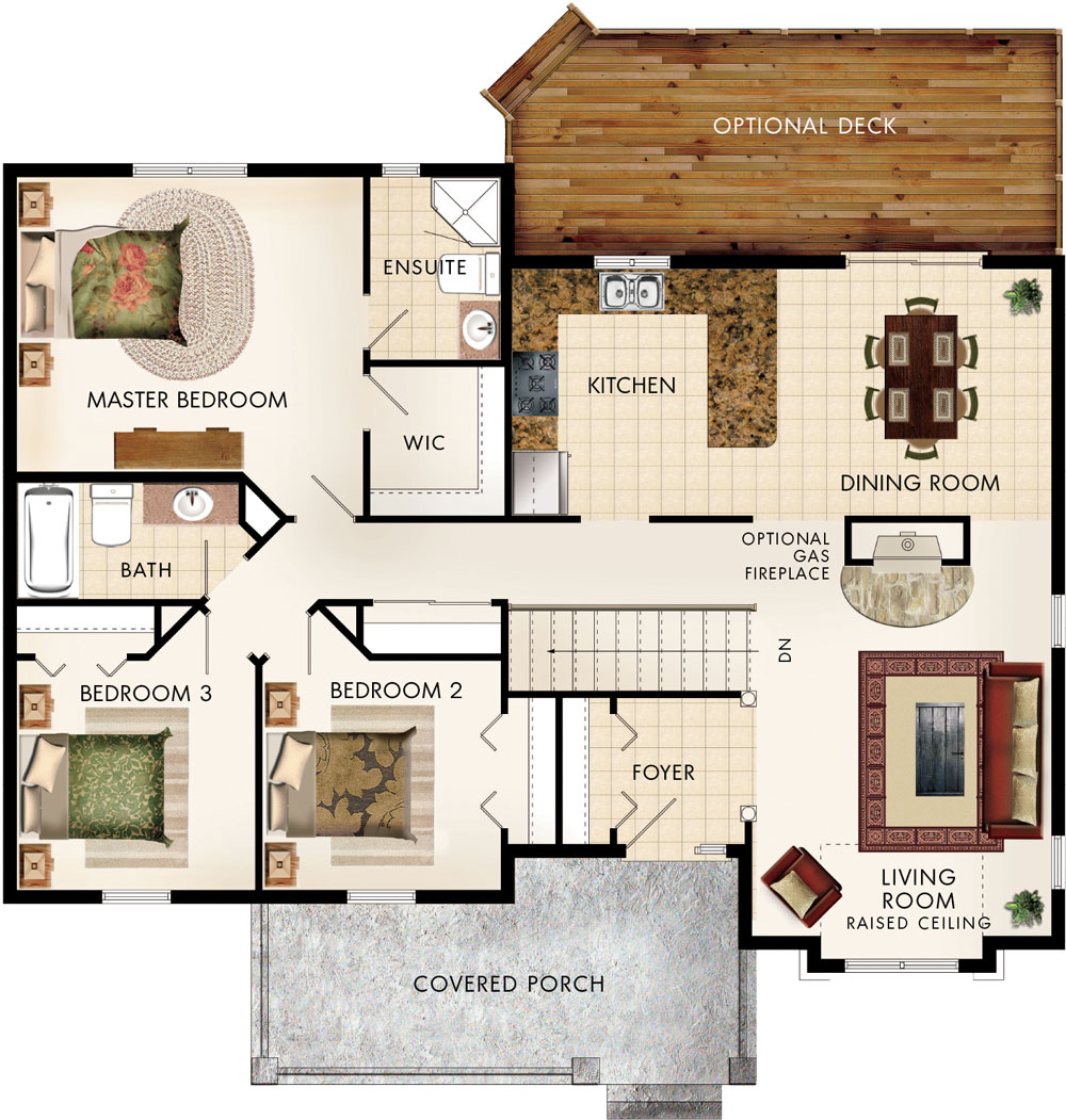 Beaver homes and cottages cottonwood for Home hardware floor plans