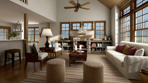 Living Room Virtual Tour