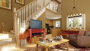 Living Room Virtual Tour