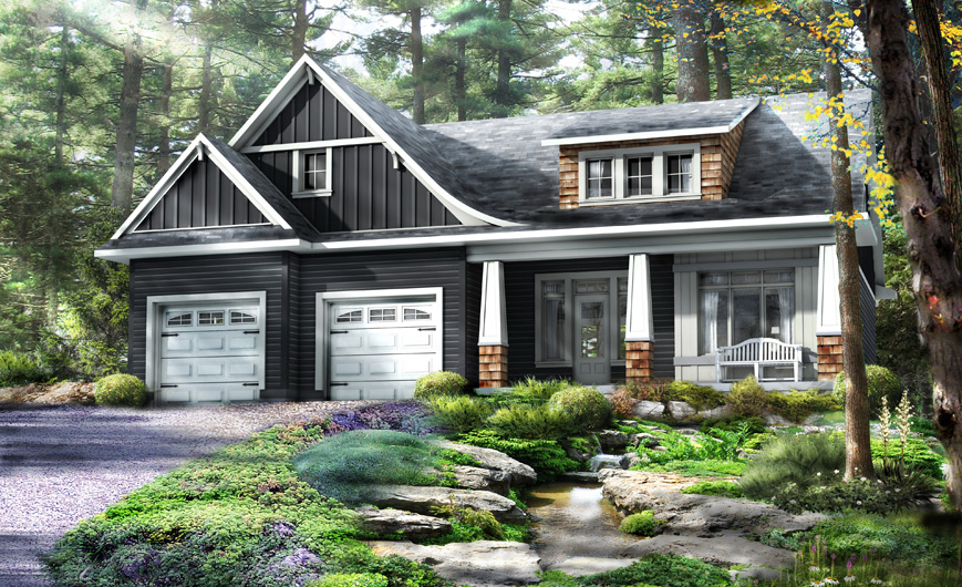 Enjoyable Beaver Homes And Cottages Two Storey Homes Download Free Architecture Designs Embacsunscenecom