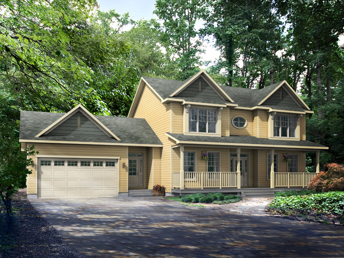 Cottage plans home hardware cheap love this house with for Country style house plans with loft
