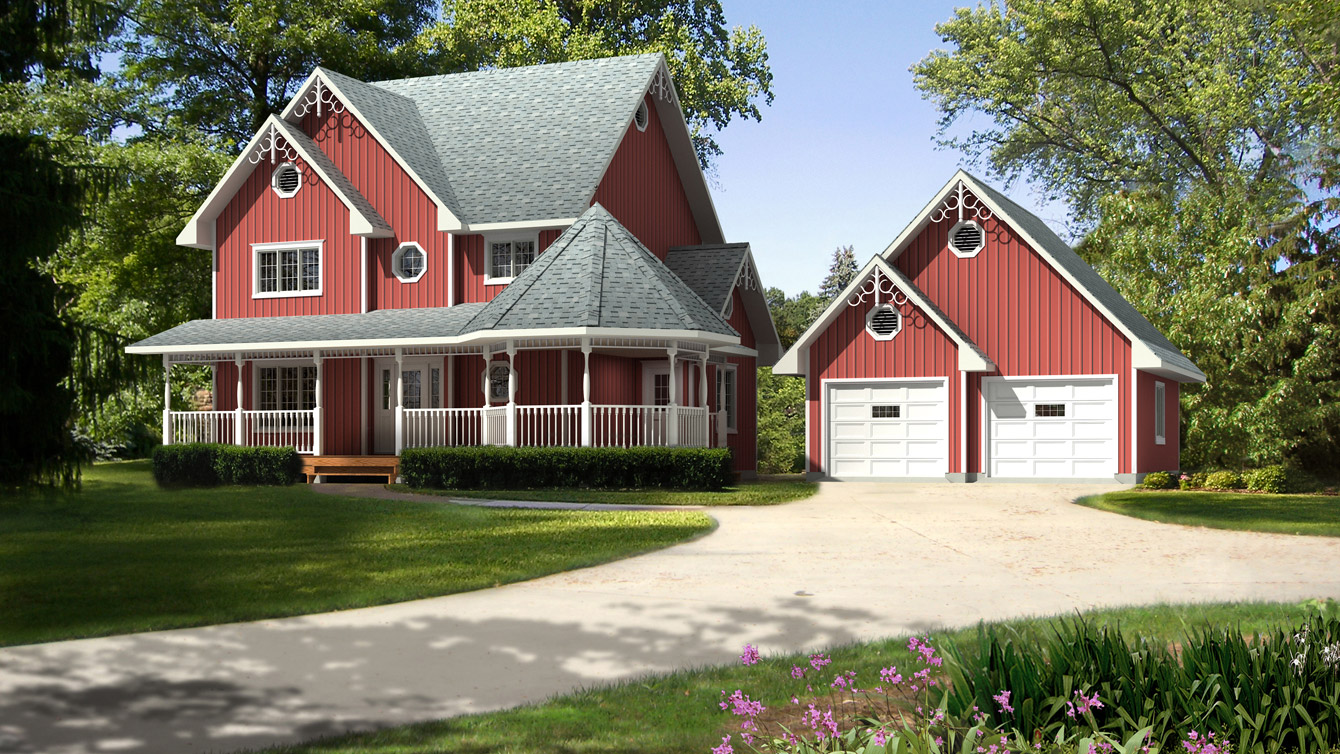 Beaver homes and cottages avonlea for Cottage plans canada