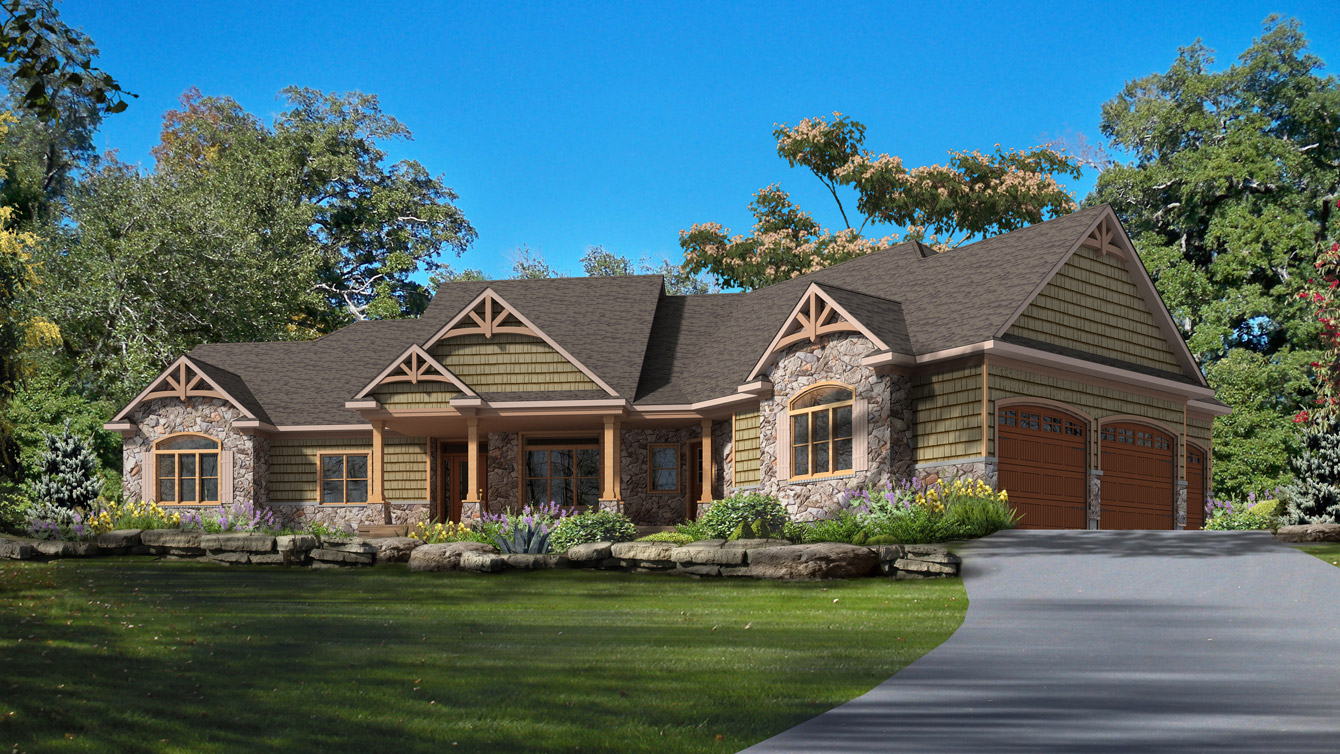 Beaver homes and cottages cranberry for Cottage plans home hardware