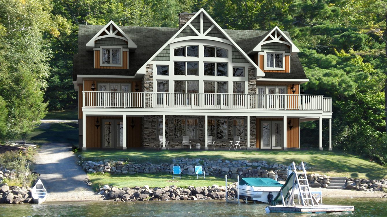 Beaver homes and cottages copper creek ii for Cottage plans home hardware