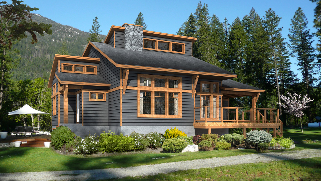 Beaver homes and cottages kipawa for Cottage plans home hardware