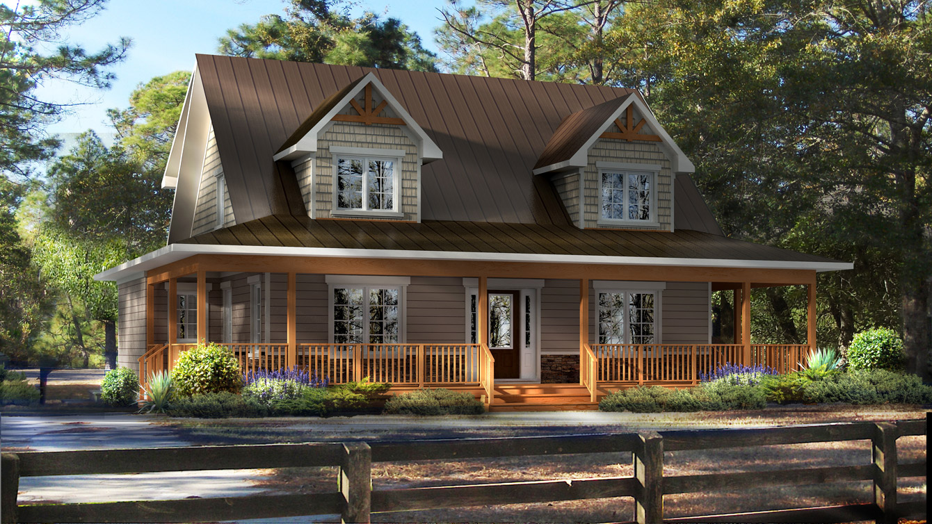 Beaver homes and cottages madison for Cottage plans home hardware
