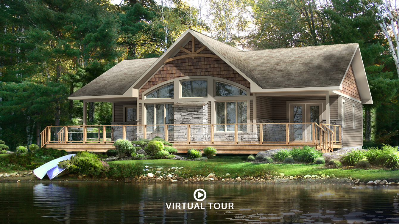 Beaver cottage and home plans for Cottage home design