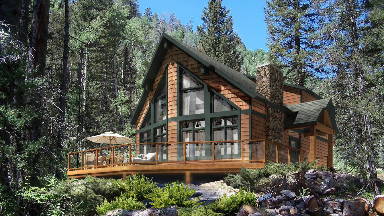 Beaver homes and cottages ashland tfh for Cottage plans with loft canada