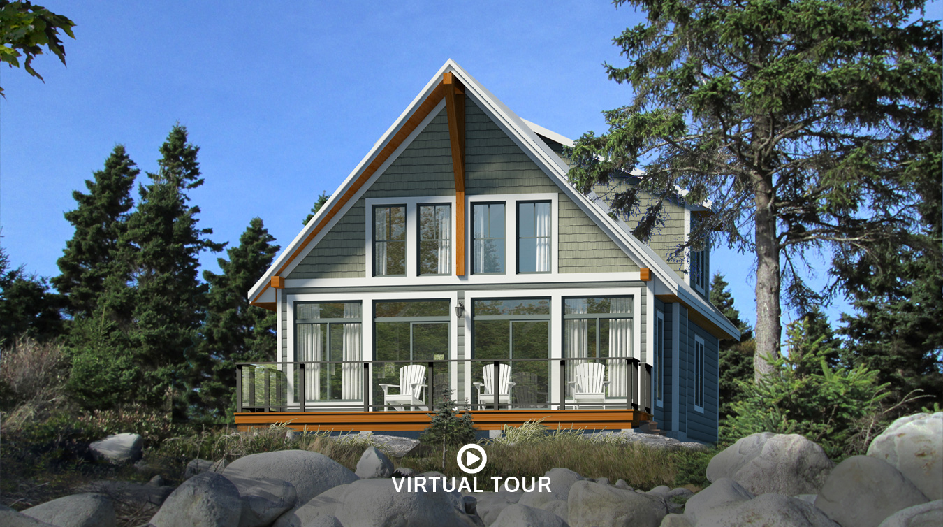 Beaver homes and cottages manitoulin for Cottage plans home hardware