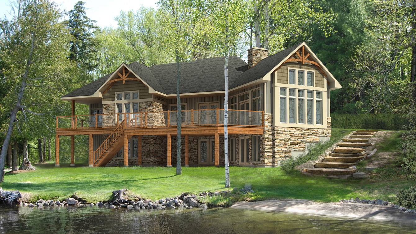 Beaver homes and cottages glenbriar i for Cottage architecture