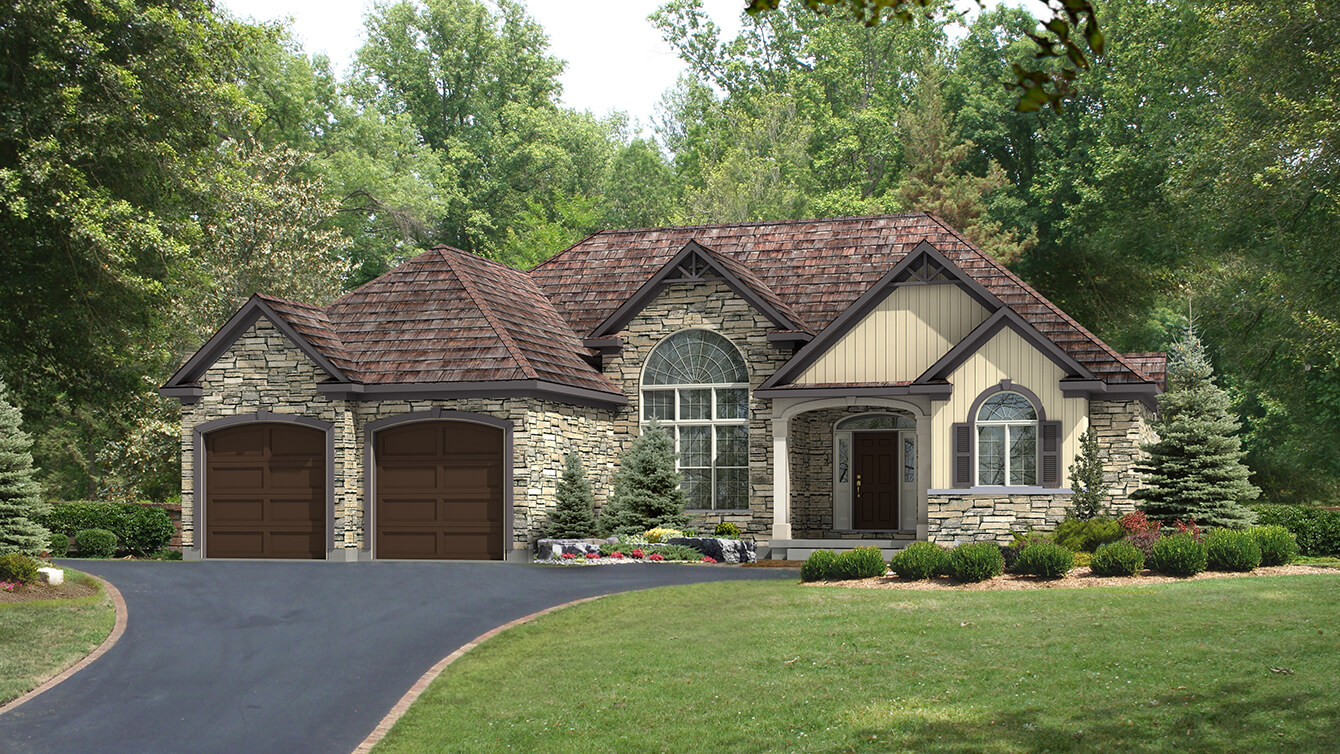 Beaver homes and cottages foxstone i for Home plans ontario