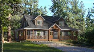 Whitetail Crossing Home Plan